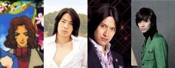 Vannes Wu, Tsuyoshi Abe, and Kim Joon as Mimasaka Akira