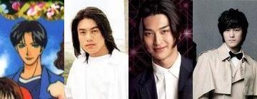 Ken Zhu, Shota Matsuda, and Kim Bum as Nishikado Sojirou