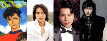 Jerry Yan, Matsumoto Jun, and Lee Min Ho as Domyouji Tsukasa