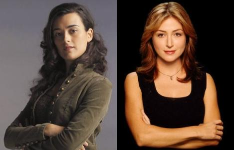 Ziva David and Kate Todd